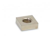Visserie Nautix- Ecrou carré laiton M8 14x14