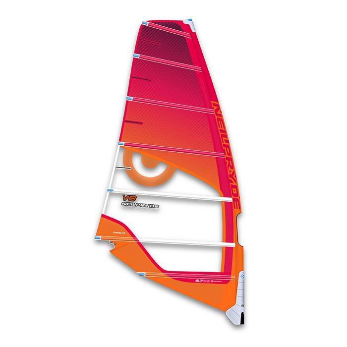 Voile de windsurf Neil Pryde V8 Twin Cam 2017.
