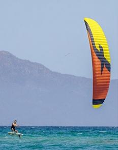 Aile de kitesurf F-One Diablo 2016 nue.