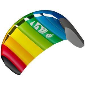 Aile de traction terrestre Symphony Beach III 1,8M² Rainbow