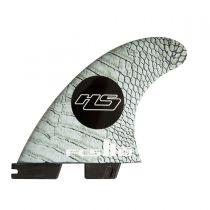 Ailerons de surf FCS 2 HS PC Carbon Medium  Tri Retail Fins