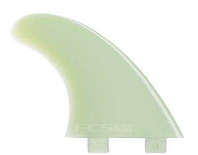 Ailerons de surf FCS Thruster Glass Flex x-small