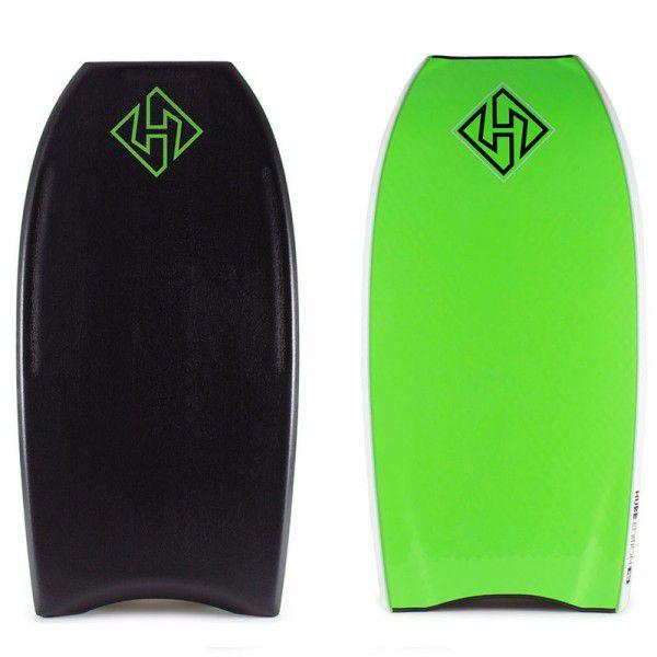 Bodyboard HUBBORADS EDITION NRG+ S18  Black/Fluo Green