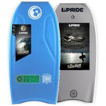 Bodyboard PRIDE The Combo PE HRC Aqua Blue / Silver