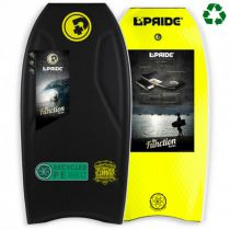 Bodyboard PRIDE The Combo PE HRC Black / Yellow