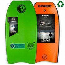 Bodyboard PRIDE The Stereo PE HRC Green / Orange