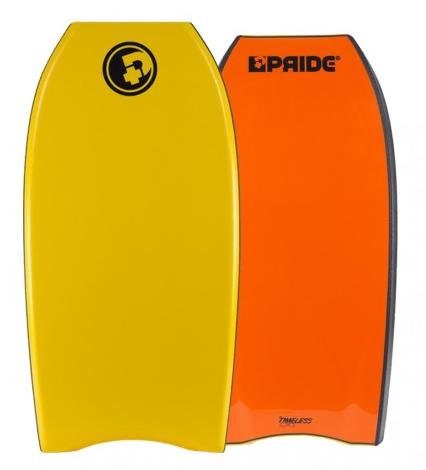 Bodyboard PRIDE The Timeless NRG+ HD Tangerine/Orange