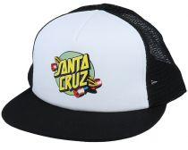 Casquette Santa Cruz Summer Of 76 White Black