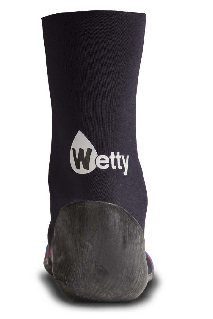 Chaussons néoprène Wetty 3mm BARE W19 Carbone