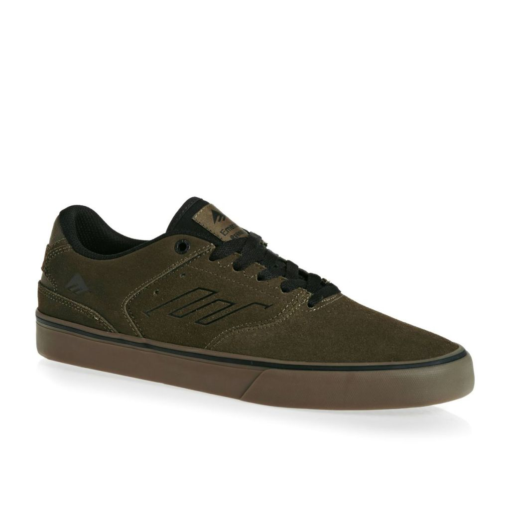 Chaussures Emerica The Reynolds Low Vulc W18 Olive Black Gum