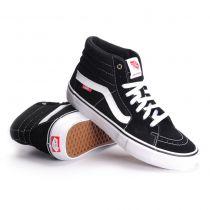 Chaussures Vans SK8-Hi Pro W18 Black White