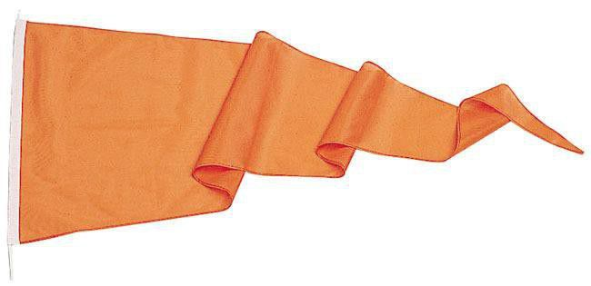 Flamme orange