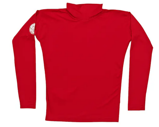 Lycra manches longues junior Rip Curl anti UV CORPO S18 Red