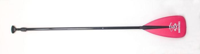 Pagaie de paddle Surfpistols Polyester Black 2 Parts