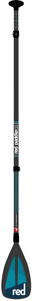 Pagaie Sup Red Paddle Co shaft fibre pale nylon  3 parties.
