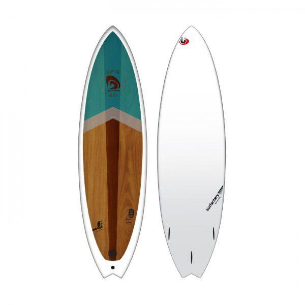 Planche de surf surfactory 6\'7 fish