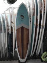 Planche de surf surfactory 7\'2 wood