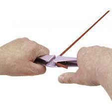 Poignée double d\'étarquage Clamcleat® à main : - Double taquet Clamcleat® aluminium. - Léger, solide, et facilement transportabl
