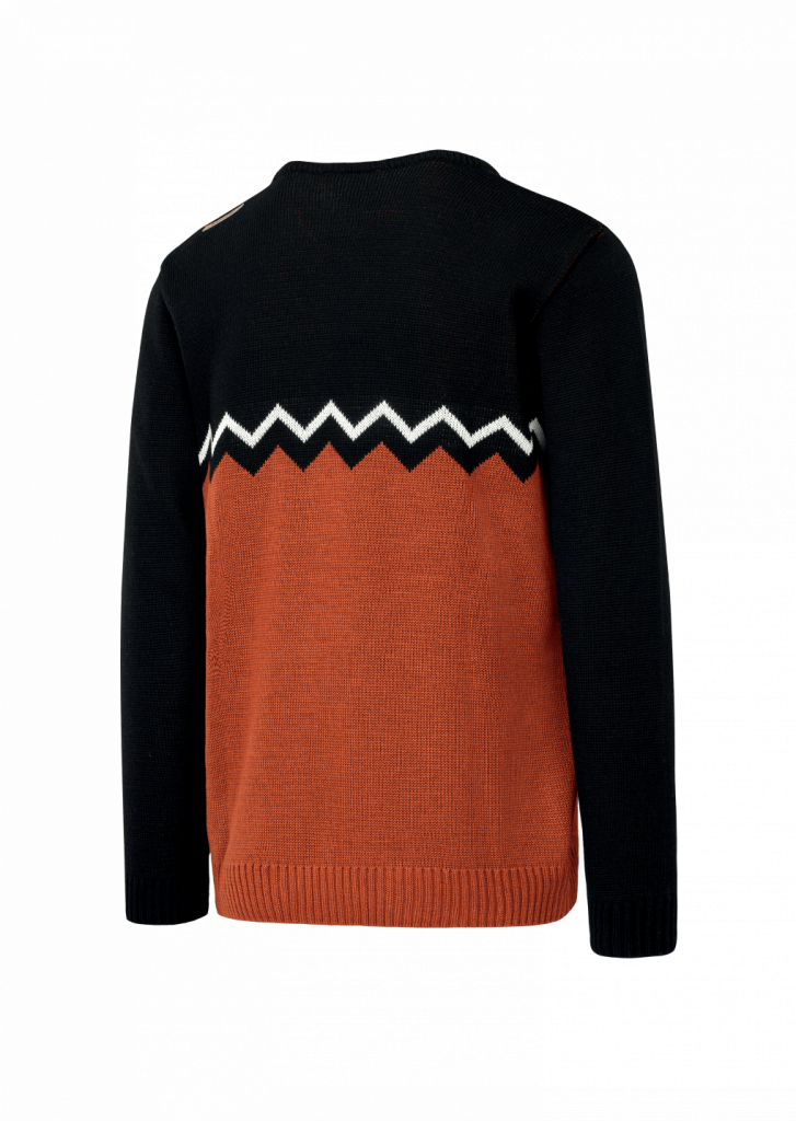 Pull Picture Knitter Brown