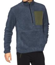 PULL POLAIRE ELEMENT WINDRIFT QTR ZIP ECLIPSE NAVY