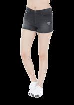 Short Femme Picture Organic COSI S18 Black Denim