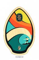 Skimboard SKIM ONE Wood Kauai Rainbow 30