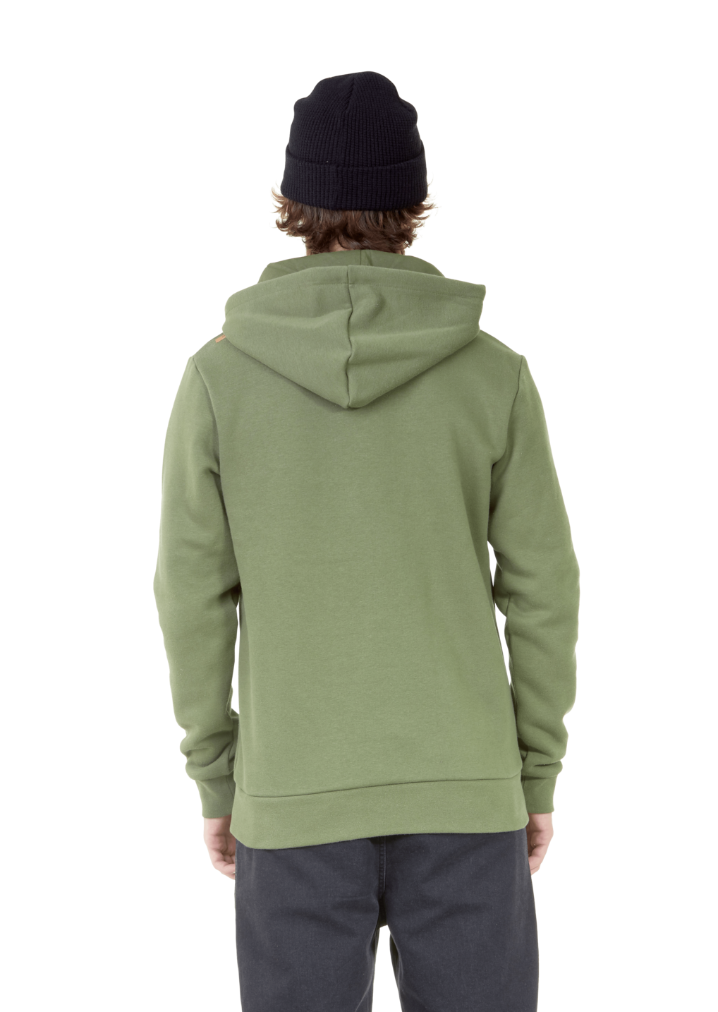 Sweat Picture Basement Flock Army Green