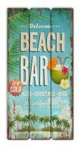 TABLEAU WOOD BEACH BAR