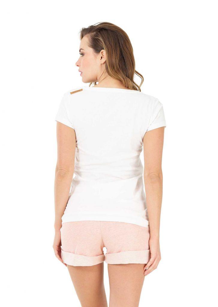 Tee shirt  Picture BASEMENT PALM TEE White