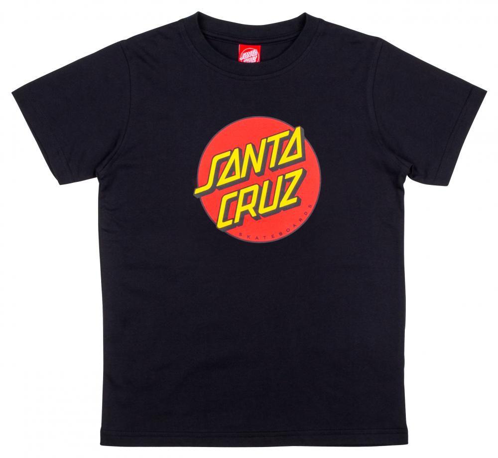 Tee Shirt Enfant Santa Cruz Classic Dot Black