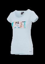 Tee Shirt femme Picture Basement Heather Pale Blue Mélangé