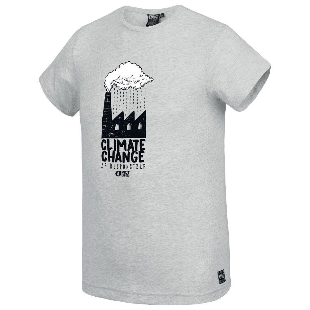 Tee Shirt Picture Sillanaq Light Grey Melange