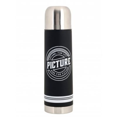 Thermos Picture 1L CAMPEI BOTTLE Black