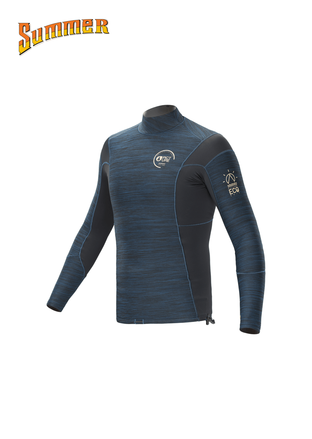 Top Lycra Picture Manches Longues OCEAN HYBRID 1.5